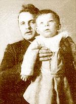 Василий Викторов с сыном Димитрием